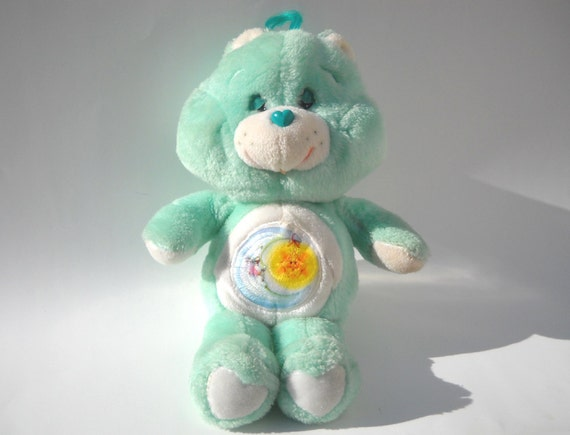 Vintage Care Bear Plush: Bedtime Bear
