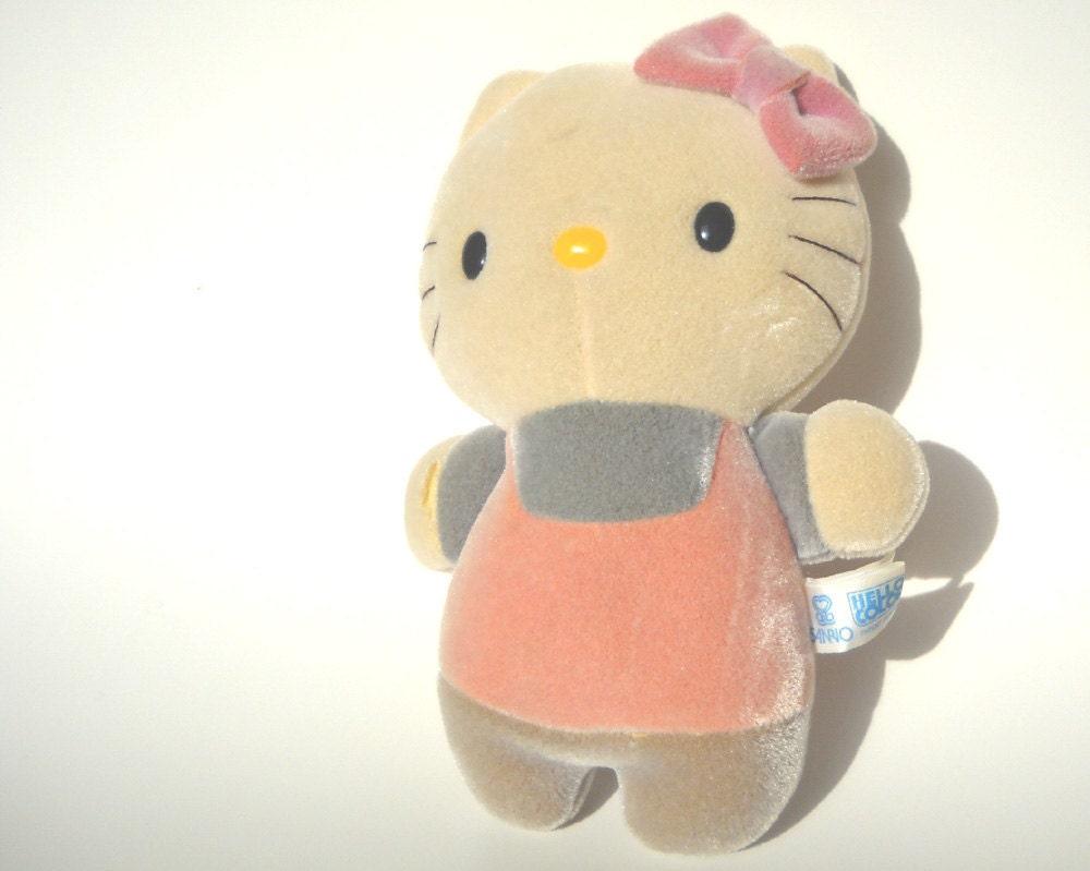 Hello Kitty Toys0 : Vintage s hello kitty plush bath toy rare