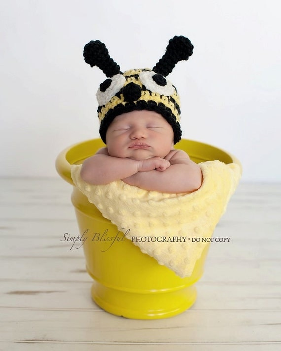 Little Bee Beanie Baby Photography prop