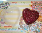 Extra Large Heart Flexible Casting Resin No Release Needed Resin Mold Jewelry Flatback