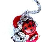 Vintage RePurposed Button Necklace