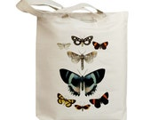 Butterflies Flying Insects 13 Eco Friendly Canvas Tote Bag (id7763)