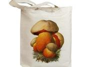 Mushroom 08 Vintage Eco Friendly Canvas Tote Bag (ixp008)