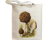 Mushroom 20 Vintage Eco Friendly Canvas Tote Bag (ixp020)