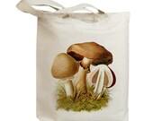 Mushroom 31 Vintage Eco Friendly Canvas Tote Bag (ixp031)