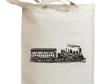 Retro Train 07 Eco Friendly Tote Bag (id0027)