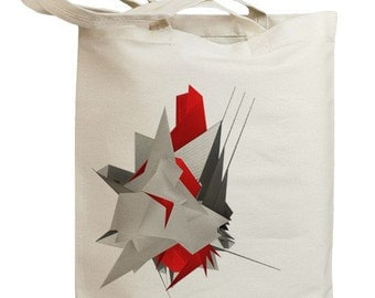 Abstract Building Blocks Eco Friendly Tote Bag (id0030)