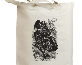 Butterfly 02 Eco Friendly Canvas Tote Bag (id0079)