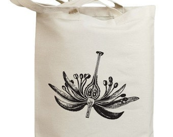 Flower Blossom 03 Eco Friendly Canvas Tote Bag (id0083)