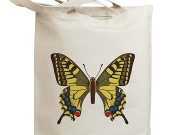 Butterfly 05 Eco Friendly Canvas Tote Bag (id0089)