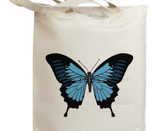 Butterfly 07 Eco Friendly Canvas Tote Bag (id0091)
