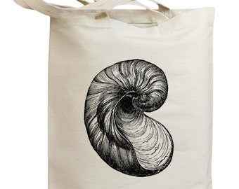 Retro Seashell 03 Eco Friendly Canvas Tote Bag (id0105)