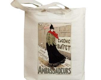 Ambassadeurs European Poster Ad Eco Friendly Tote Bag (id5305)