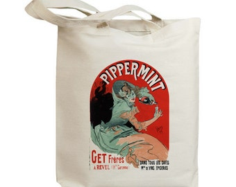 Pippermint European Poster Ad Eco Friendly Tote Bag (id5330)