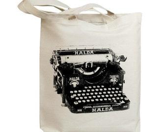 Retro Typewriter 03 Eco Friendly Canvas Tote Bag (id6702)