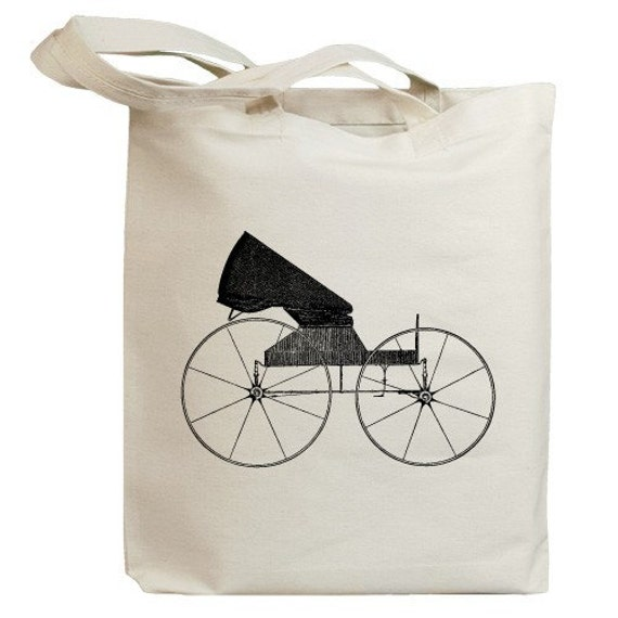 Retro Carriages and Coaches 02 Eco Friendly Canvas Tote Bag (id0061)