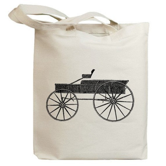 Retro Carriages and Coaches 08 Eco Friendly Canvas Tote Bag (id0067)