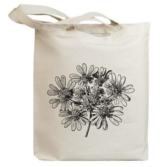 Flower Blossom 01 Eco Friendly Canvas Tote Bag (id0081)