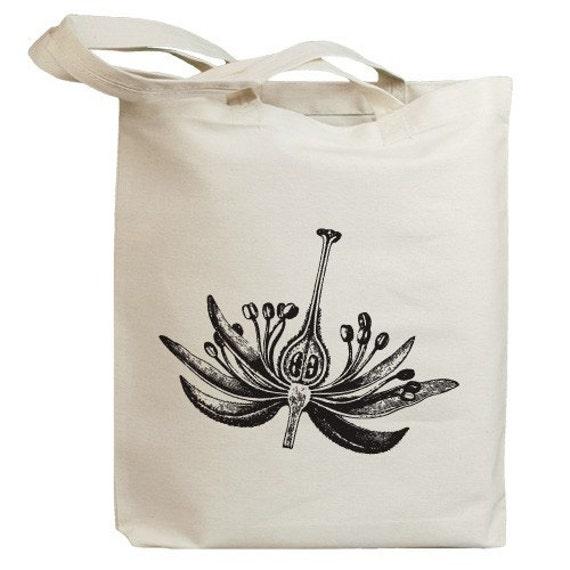 Flower Blossom 03 Eco Friendly Canvas Tote Bag (id0083)