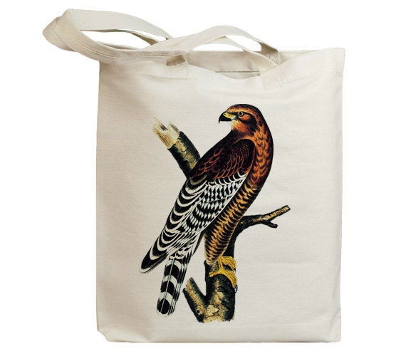 Retro Eagle 02 Eco Friendly Canvas Tote Bag (id5053)