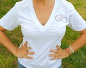 Love Infinitely V-neck Shirt