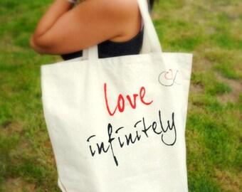 The Love Infinitely Tote Bag