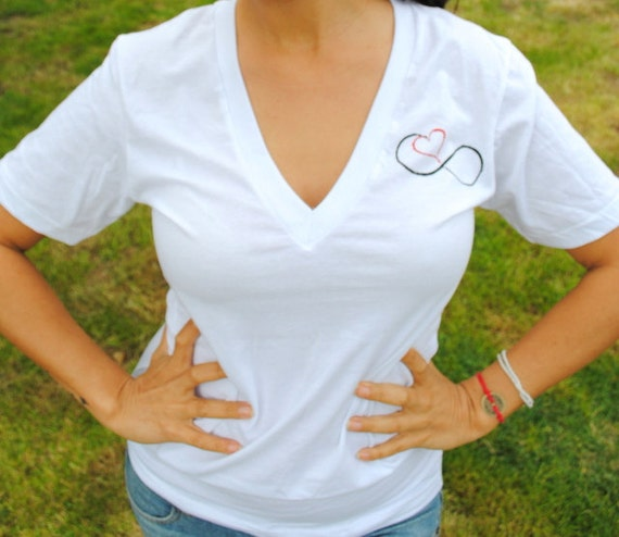 Love Infinitely V-neck Shirt
