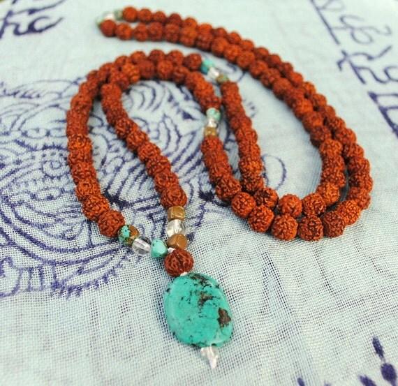 The Meditation Mala - Turquoise