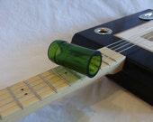 Cigar Box Guitar Bottleneck Silde - Mean Green