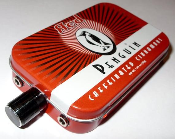 18 Volt CMOY Grado RA1 JRC4556 Headphone Amplifier Penguin Red