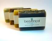 Sampler Pack of 4 Organic Handmade Soap Bars