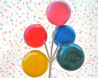 Big Balloon Cluster Cake Novelty Pick