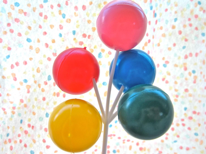 Big Balloon Cluster Cake Novelty Pick