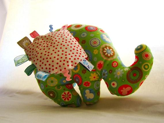 RESERVED - - - Elephant Plush Stuffed Animal Baby Toy