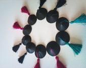 Nipple tassels black training set with Cush Drive