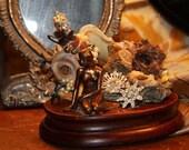 Fairytale Art The Little Mermaid Sea Star Sculpture Charlottes Web Whimsical Fairytale Miranda  Annabelle Original 2011