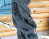 Corriedale Cross roving from Hersey. She is mostly Corriedale with some CVM which gives her fleece a beautiful color and still very soft.