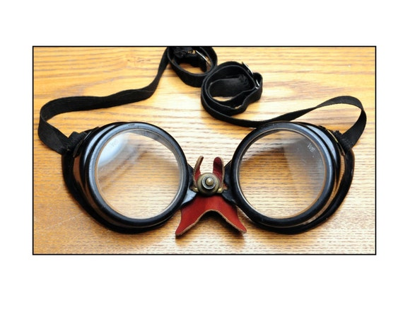 Vintage Willson Motorcycle Goggles