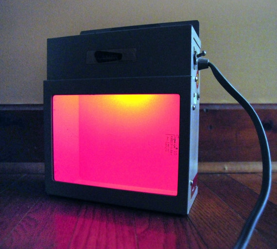 Industrial Light Halsey X-Ray Viewing BoxAmber Light