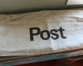 Swiss Military Postal Mail Bag - Canvas Post
