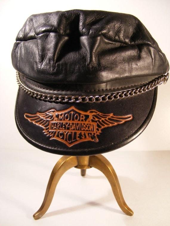 Harley-Davidson Men's Embroidered Classic H-D Text ...  |Vintage Harley Davidson Hats