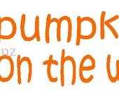 Little pumpkin on the way maternity shirt iron-on decal NEW by kustomdesignzbyk