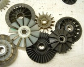 Old Salvaged Tool Parts for Steampunk Assemblage Projects 25 Pieces