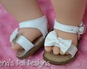 Bitty Bow Toe Sandal for your Bitty Baby or Bitty Twin