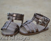 Doll shoes for American Girl --  Gladiator sandals