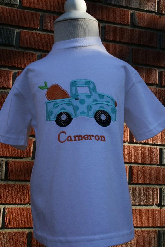 Cute Little Boy's Applique Easter Shirt... by ...