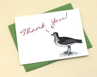 Little Bird Thank You Notes - Set of 8