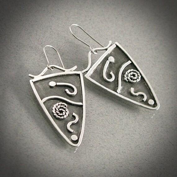 Hyper - Sterling Silver Earrings