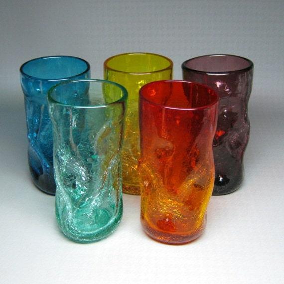 Eames era vintage glass