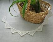 Crochet trim : Triangle
